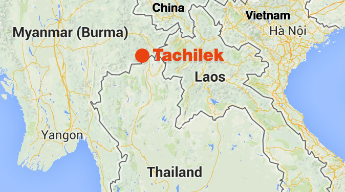 Tachileik Myanmar  City new picture : The Story of my Visa Run to Tachileik in Myanmar