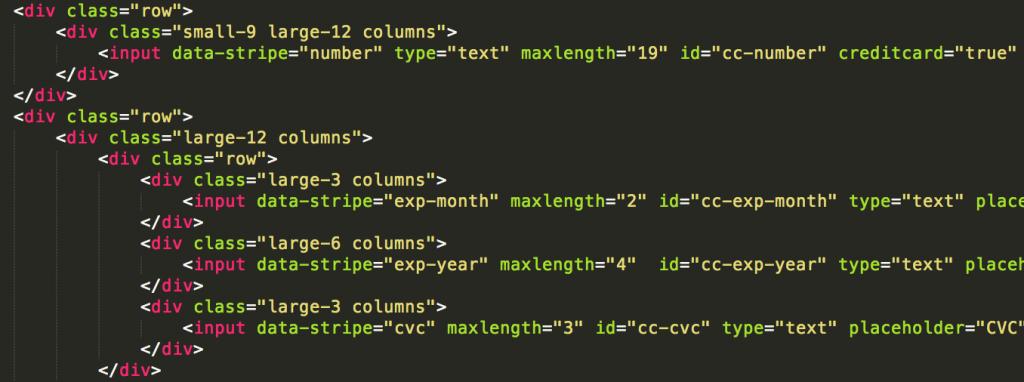 Stripe API implementation