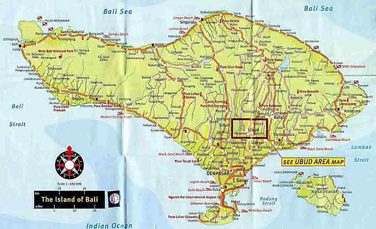 Carte Bali Avec Aeroport.Bali Is The Magical Voodoo Spirit Island Of Asia
