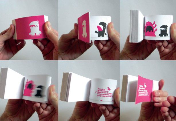 Assez GIFbook, the first animated GIF flipbook GT11