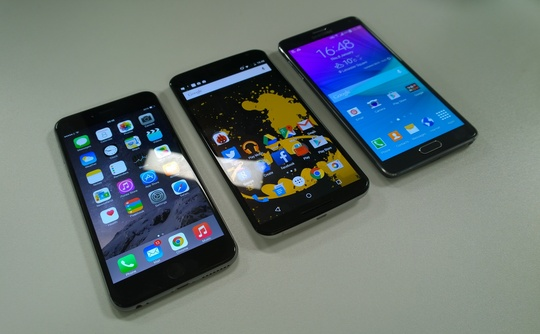 iphone-6-plus-vs-nexus-6-vs-galaxy-note-4-three-quarter-540x334