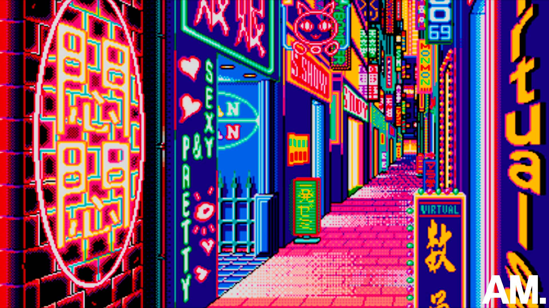 Vaporwave is the only music that fits the feeling ...
