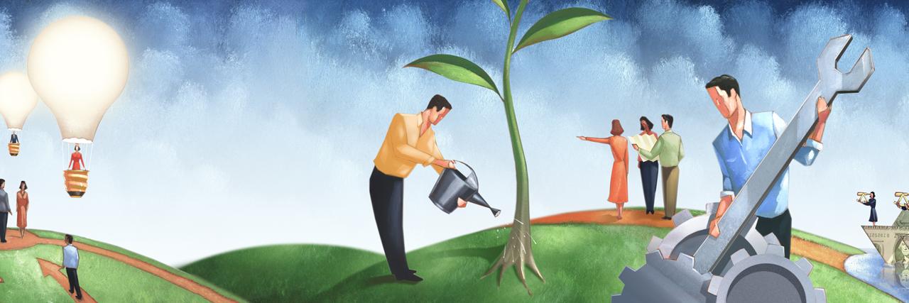 Choosing Entrepreneurship Over A Corporate Career